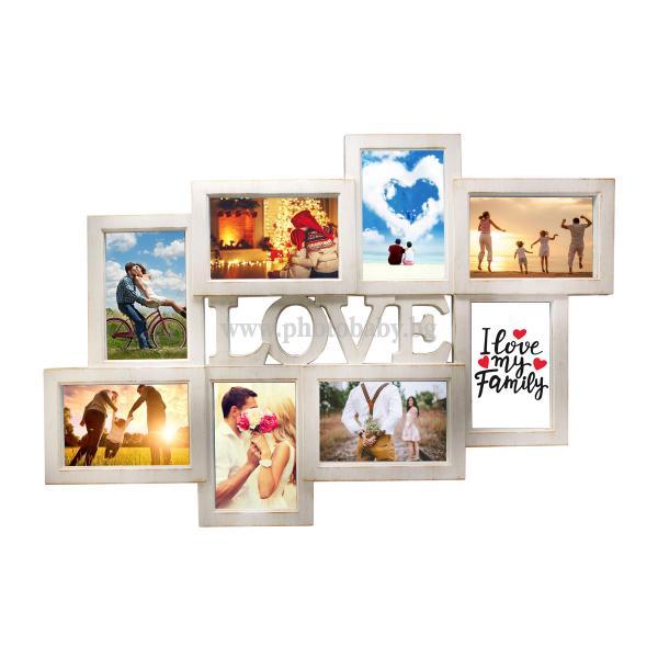 Колажна Рамка-LOVE - Фото Рамки, Колажни  Рамки