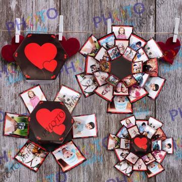Магическа кутия с 24 снимки - Св.Валентин