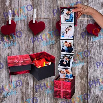 Магическа кутия с 10 до 18 снимки - Св.Валентин