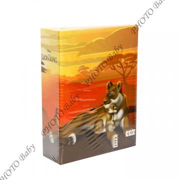 Детски албум за снимки Цар лъв  10x15-100 бр. - Детски албуми