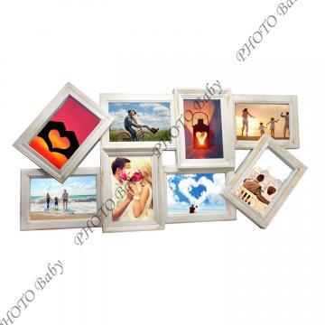 Колажна Рамка с вашите 8бр. снимки - Колажни  Рамки
