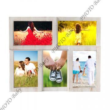 Колажна Рамка с вашите 5бр снимки - Колажни  Рамки