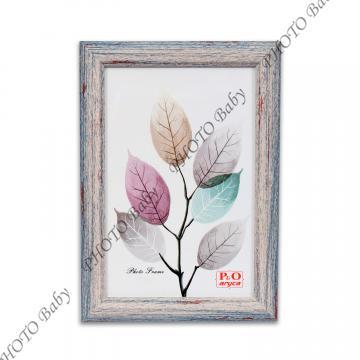 Цветна дървена фото рамка - 10X15cm
