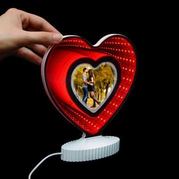 Светеща 3D рамка със снимка - Подаръци със снимка или текст, Цветница, Великден, Тодоровден, Св.Валентин, 8-ми март